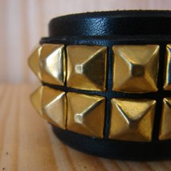 37mm_custom_leather_studded_bracelet_1