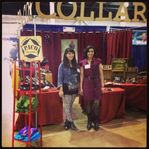 Paco Collars display booth