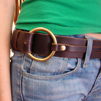 o ring belt paco collars custom leather collars