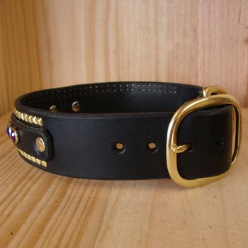 gay-ruadh-custom-leather-dog-collar-side