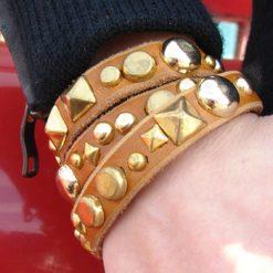 glitterati_custom_leather_studded_bracelet_3