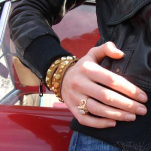 glitterati_custom_leather_studded_bracelet_5