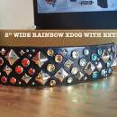 rainbow xdog with extra bling - SIZED FOR SITE