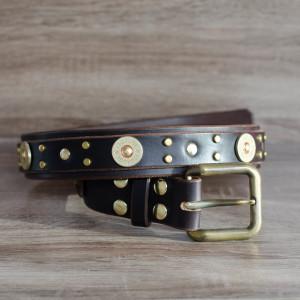matching_belt_12guage_chocolatebrass